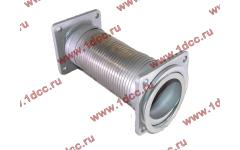 Гофра-труба выхлопная с квадратными фланцами FN для самосвалов фото Ижевск